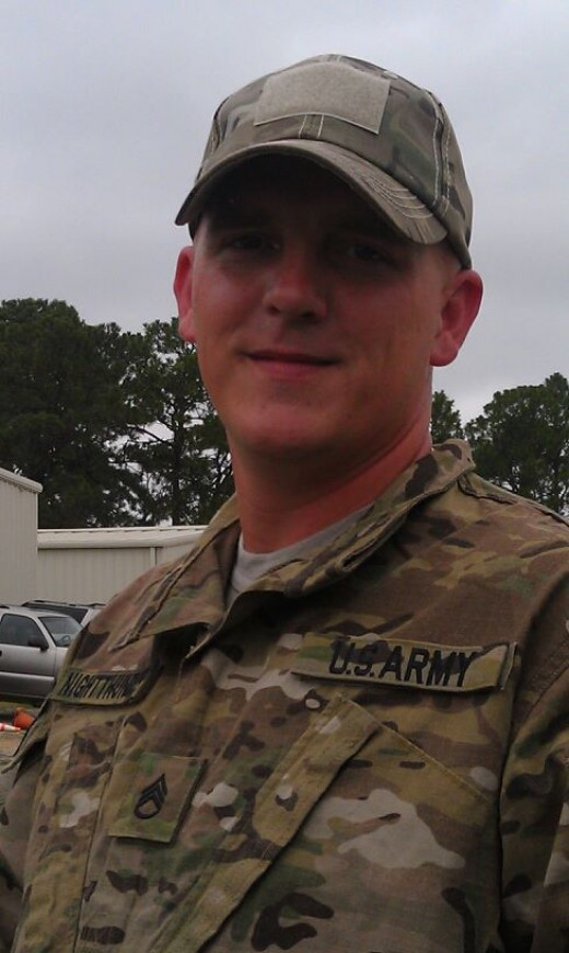 The most amazing Soldier I have ever known :)  My hubby!!!!