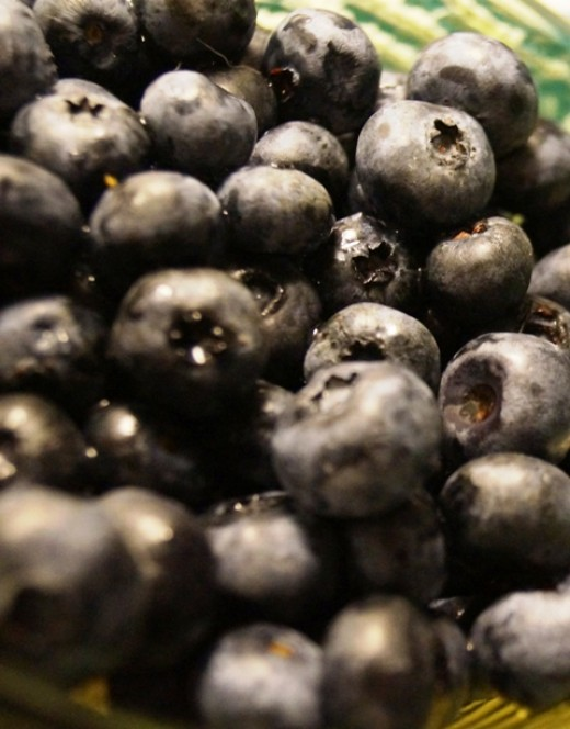 Blueberries are great for you!