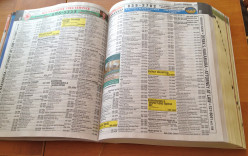When was the last time you used the yellow pages?