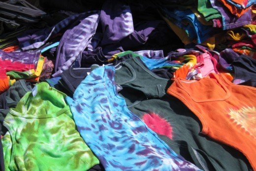 Tie-Dyed shirts for sale!