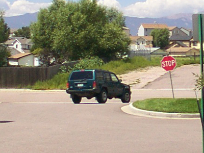 This is the Jeep the Wedding Dress Attacker used as a getaway car in the 2004 Colorado attack.