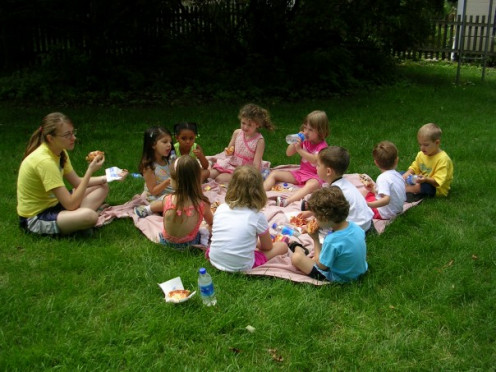My experience teaching preschool summer camp throughout college was an asset for my initial teaching job interviews.