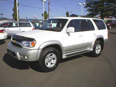 Police say that the NorCal Rapist may be driving an SUV similar to the one pictured here.