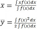 Integral for the Center of Mass of a Lamina (2-Dimensional Shape) Part 2: Y-Coordinate