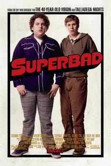 Poster for the amazingly funny Superbad