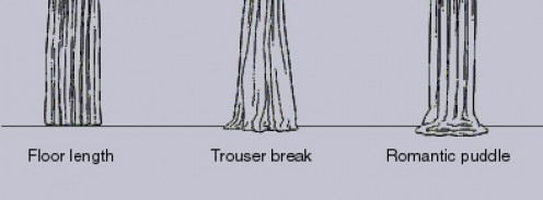 Curtain Length as well  on valance ds curtains