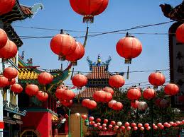 The ballons at chinatown