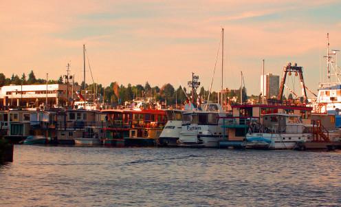 Houseboats on Lake Union