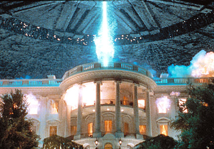 """White House - scene from """"Independance Day"""""""