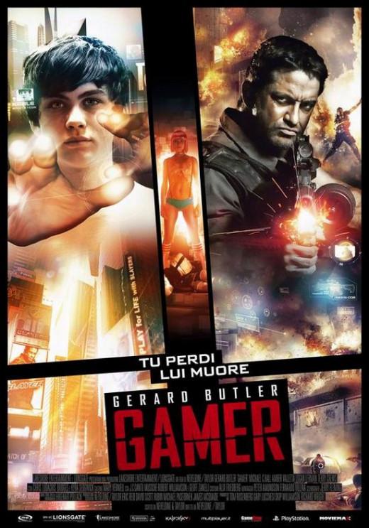 Gamer (2009) poster