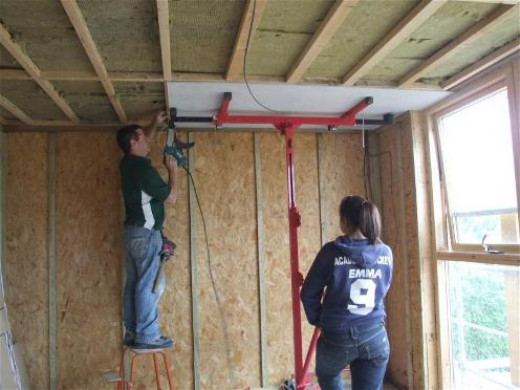 Advice On How To Plasterboard A Ceiling And Skim With