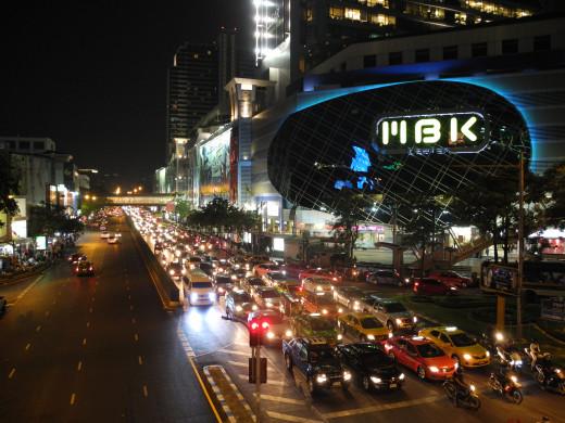 MBK at night