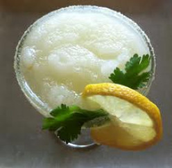 Crushed Ice Lemon Slushy Recipe