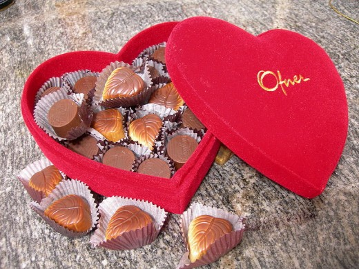 "Chocolates are old-fashioned, used only as a ""sidekick"" gift"