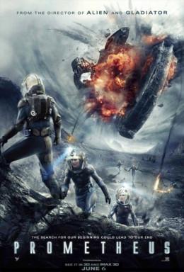 Prometheus (2012) poster