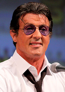 Stallone at the 2010 San Diego Comic-Con