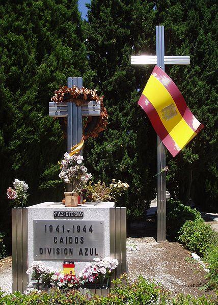 The Cementerio de la Almudena near Madrid- the location of the Blue Division Memorial.