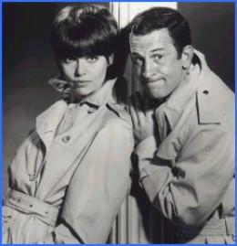 Don Adams as Maxwell Smart, Agent 86.  Barbara Feldon as Agent 99