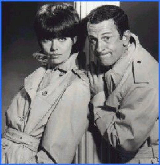 Don Adams as Maxwell Smart, Agent 86.  Barbara Feldon as Agent 99