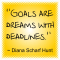 Goal Setting, Achieving Goals