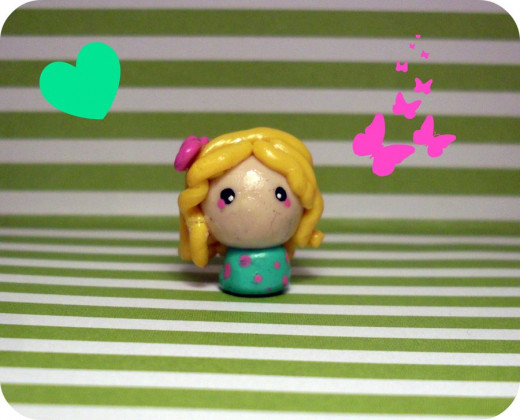 HOME MADE CHIBI DOLL