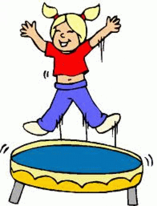 A trampoline is perfect for the sensory seeking child