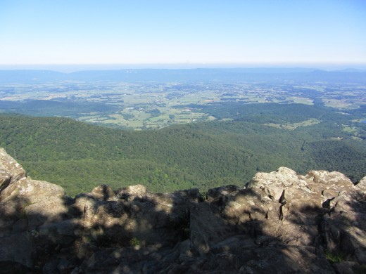 View from Little Stony Man Cliffs near Stony Man Summit