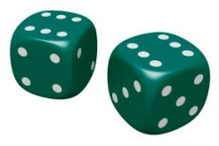 How to Compute the Probability of Rolling a Sum with Two Dice