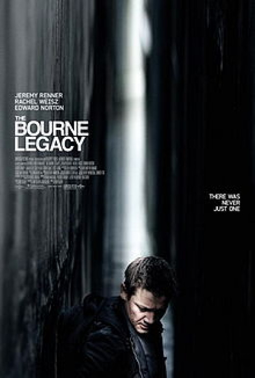 Theatrical Poster for The Bourne Legacy