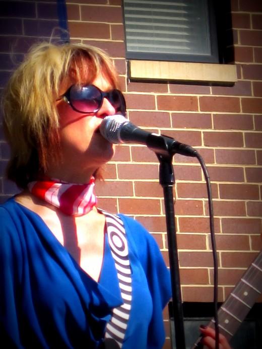 Lead singer Chloe F. Orwell