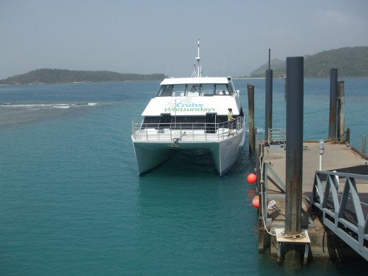 'Cruise Whitsundays' have various day trips to the beautiful Whitsunday Islands