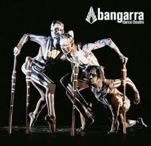 The Bangarra Dance Theatre regularly perform at the Opera House