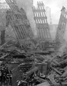After the collapse of The Twin Towers