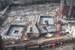 Where The Twin Towers Once Stood