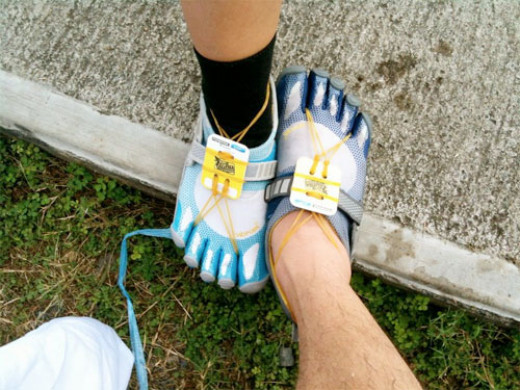 Running with Vibram Five Fingers