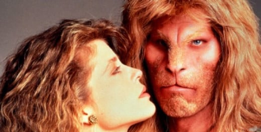 Linda Hamilton from Beauty and the Beast in the 80's on CBS