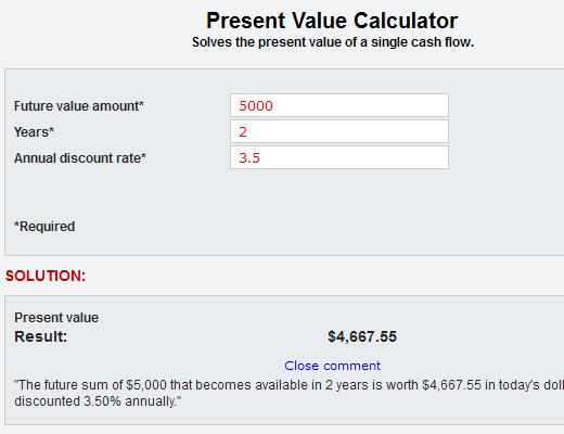 Source: iCalculator by ProAPOD Real Estate Investment Software