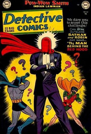 The original Red Hood, from Detective Comics #168 (1951).
