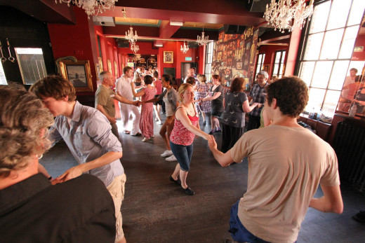 Mersey Swing workshop