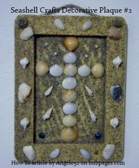 A Different Seashell Craft Decorative Plaque
