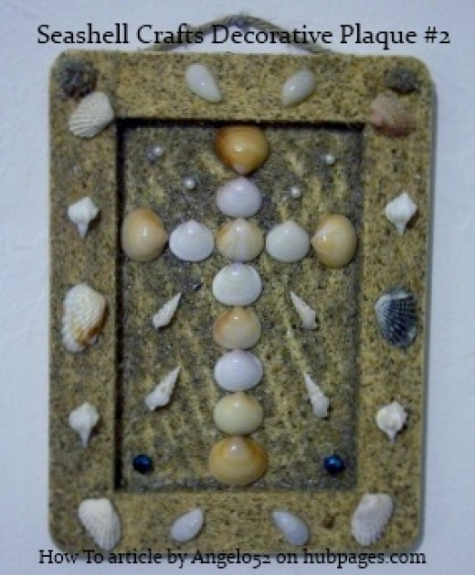 A Different Seashell Craft Decorative Plaque