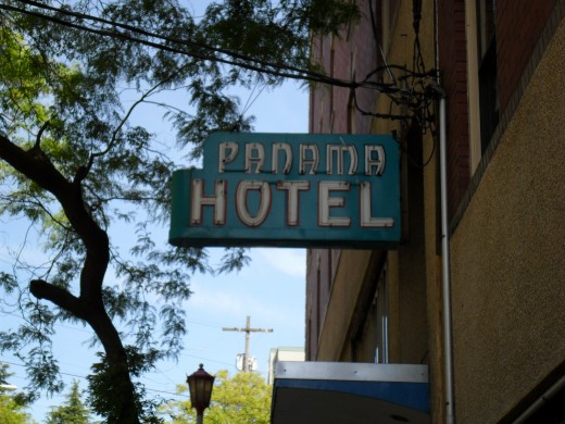 Present day Panama Hotel in Seattle, WA