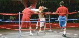 Rocky the Kangaroo, Piccadilly Circus (2010)
