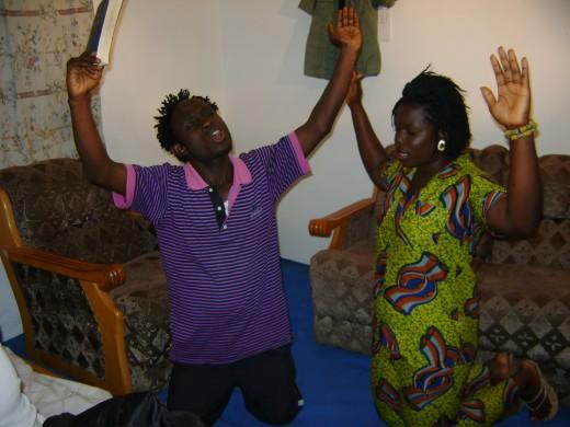Edwin and Carol mediates for Ezekiel