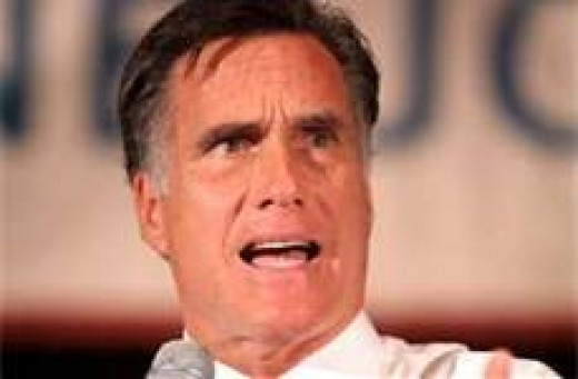 Mitt Romney. He's all talk and no substance.