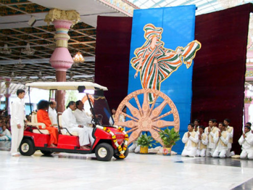 The independence day 39 drama 39 in sri sathya sai 39 s presence for 15th august independence day decoration ideas