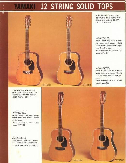 Yamaki 12 string guitars are frightfully rare.