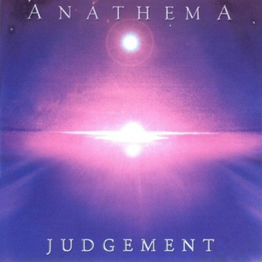 The interesting cover artwork for Judgement.