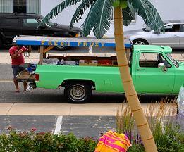 Beach Town Fruit Truck