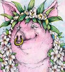 A beautiful woman who lacks discretion is like a gold ring in a pig's snout. Prov. 11:22